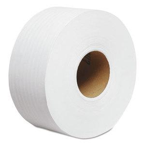 """Kimberly-Clark Corporation 7304 JRT Jr. Roll Tissue, 2-Ply, 7.9""""dia, 750ft, 12/Carton by KIMBERLY CLARK"""