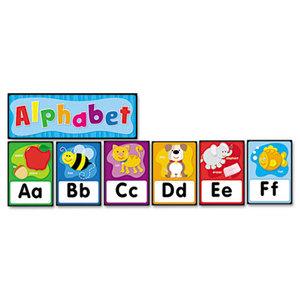 Carson-Dellosa Publishing Co., Inc 119004 Quick Stick Bulletin Board Set, Alphabet by CARSON-DELLOSA PUBLISHING