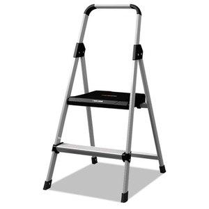 LOUISVILLE BXL226002 Aluminum Step Stool Ladder, 250lb cap, 18 1/2w x 23 1/2 spread x 38 1/2h by LOUISVILLE