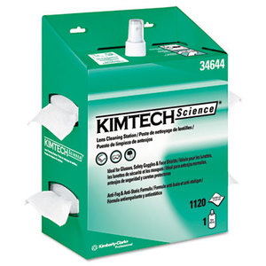Kimberly-Clark Corporation 34644EA KIMWIPES Lens Cleaning, POP-UP Box, 1120 Wipes/Box, 4/Carton by KIMBERLY CLARK