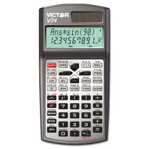 Victor Technology, LLC V34 V34 Advanced Scientific Calculator, 10-Digit LCD by VICTOR TECHNOLOGIES