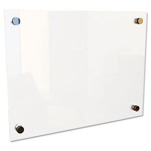 """BALT INC. 83948 Enlighten Glass Board, Frameless, Frosted Pearl, 12"""" x 12"""" x 1/8"""" by BALT INC."""