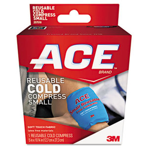 3M 207516 Reusable Cold Compress, 5 x 10 3/4 by 3M/COMMERCIAL TAPE DIV.