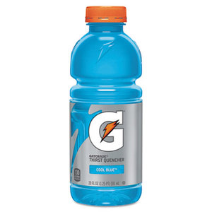 PepsiCo, Inc 052000324815 Thirst Quencher, Cool Blue, 20 oz Bottle, 24/Carton by PEPSICO