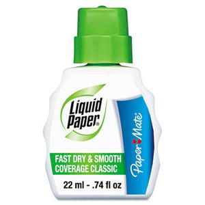 Sanford, L.P. 61446 Fast Dry Classic Correction Fluid, 22 ml Bottle, White by SANFORD