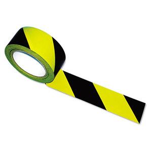 Tatco Products, Inc 14711 Hazard Marking Aisle Tape, 2w x 108ft Roll by TATCO
