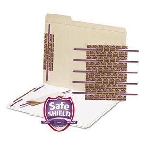 "SMEAD MANUFACTURING COMPANY 68216 SafeSHIELD Fasteners, 2"" Capacity, Purple, 50/Box by SMEAD MANUFACTURING CO."