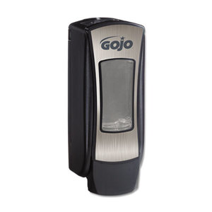 Gojo Industries, Inc 8888-06 ADX-12 Dispenser, 1250mL, Brushed Chrome/Black by GO-JO INDUSTRIES