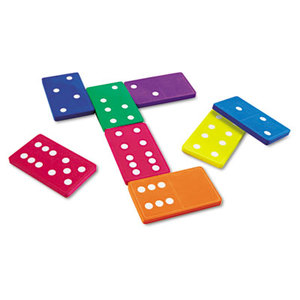 LEARNING RESOURCES/ED.INSIGHTS LER6380 Jumbo Dominoes, for Grades K and Up by LEARNING RESOURCES