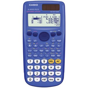 FX-300 ES PLUS Scientific Calculator (Blue)