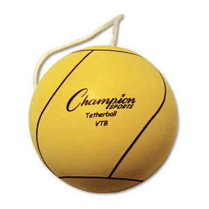 CHAMPION SPORTS VTB Tether Ball, Playground Size, Optic Yellow by CHAMPION SPORT