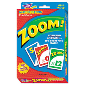 TREND ENTERPRISES, INC. T76304 Zoom Math Card Game, Ages 9 and Up by TREND ENTERPRISES, INC.