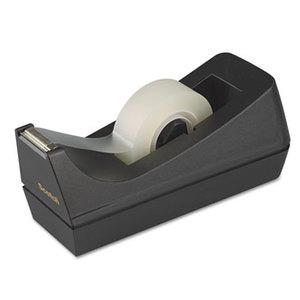 "3M C38BK Desktop Tape Dispenser, 1"" Core, Weighted Non-Skid Base, Black by 3M/COMMERCIAL TAPE DIV."