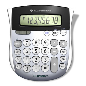 TI-1795SV 8-Digit Display Standard Function Calculator