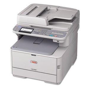 OKI Data 62441804 MC362w Wireless Multifunction Color Laser Printer, Copy/Fax/Print/Scan by OKIDATA
