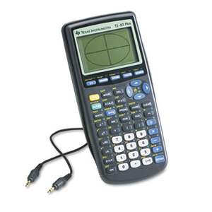 TEXAS INSTRUMENTS INC. TI-83PLUS TI-83Plus Programmable Graphing Calculator, 10-Digit LCD by TEXAS INSTRUMENTS