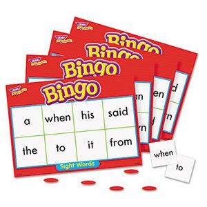 TREND ENTERPRISES, INC. T6064 Young Learner Bingo Game, Sightwords by TREND ENTERPRISES, INC.