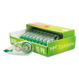 "AMERICAN TOMBOW INC. 68722 MONO Mini Correction Tape, 1/6"" x 315"", Non-Refillable, 10/Pack by AMERICAN TOMBOW INC."