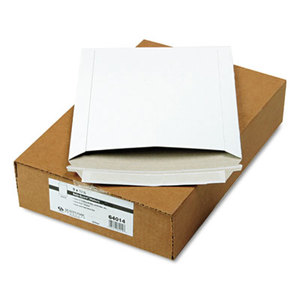 QUALITY PARK PRODUCTS 64014 Photo/Document Mailer, Redi-Strip, Side Seam, 9 x 11 1/2, White, 25/Box by QUALITY PARK PRODUCTS