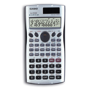 Casio Computer Co., Ltd FX-115MS SR FX-115MS Scientific Calculator (Silver)