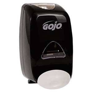 FMX-12 Soap Dispenser, 1250mL, 6 1/8w x 5 1/8d x 10 1/2h, Black by GO-JO INDUSTRIES
