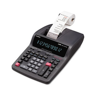 Casio Computer Co., Ltd DR270TM DR-270TM Two-Color Desktop Calculator, Black/Red Print, 4.8 Lines/Sec by CASIO, INC.