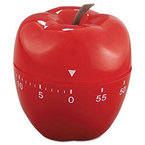 """BAUMGARTENS 77042 Shaped Timer, 4"""" dia., Red Apple by BAUMGARTENS"""