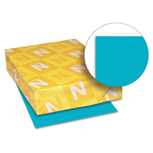 Neenah Paper, Inc 22109 Astrobrights Colored Card Stock, 65 lb., 8-1/2 x 11, Terrestrial Teal, 250 Shts by NEENAH PAPER