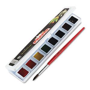 DIXON TICONDEROGA COMPANY 08000 Professional Watercolors, 8 Assorted Colors,Half Pans by DIXON TICONDEROGA CO.