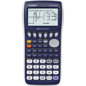 Casio Computer Co., Ltd FX-9750GII-L FX-9750GII-L Graphing Calculator (Blue)