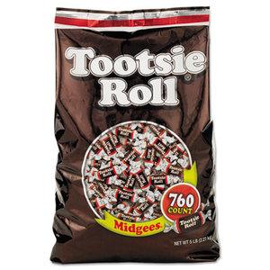 Tootsie Roll Industries 42278 Midgees, Original, 5 lb Bag by TOOTSIE ROLL INDUSTRIES