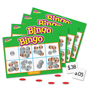 TREND ENTERPRISES, INC. T6071 Young Learner Bingo Game, Money by TREND ENTERPRISES, INC.