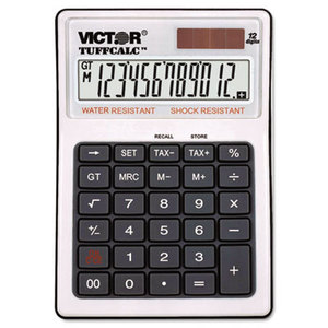 Victor Technology, LLC 99901 TUFFCALC Desktop Calculator, 12-Digit LCD by VICTOR TECHNOLOGIES