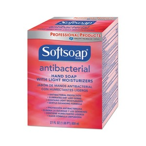 Antibacterial Hand Soap, 800 mL Refill Box, Red by COLGATE PALMOLIVE, IPD.