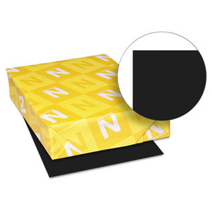 Neenah Paper, Inc 22321 Astrobrights Colored Paper, 24lb, 8-1/2 x 11, Eclipse Black, 500 Sheets/Ream by NEENAH PAPER