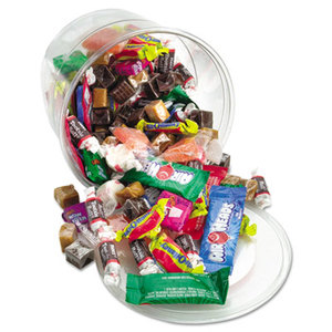Office Snax 00013 Soft & Chewy Mix, Assorted Soft Candy, 2 lb Plastic Tub by OFFICE SNAX, INC.