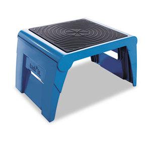 Cramer, Inc 50051PK-63 Folding Step Stool, 250lb Cap, 14w x 11 1/4d x 9 3/4h, Blue by CRAMER