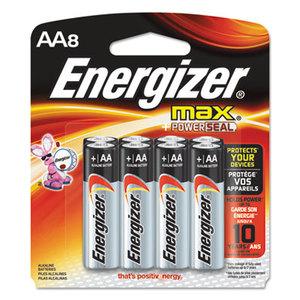 EVEREADY BATTERY E91MP8 MAX Alkaline Batteries, AA, 8 Batteries/Pack by EVEREADY BATTERY