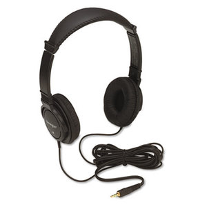 ACCO Brands Corporation 33137 Hi-Fi Headphones, Plush Sealed Earpads, Black by ACCO BRANDS, INC.
