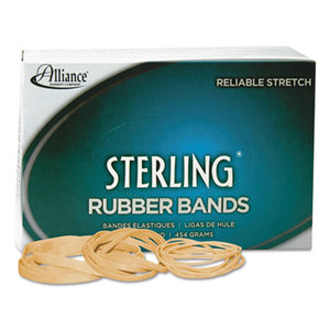 Alliance Rubber Company 24305 Sterling Rubber Bands Rubber Bands, 30, 2 x 1/8, 1500 Bands/1lb Box by ALLIANCE RUBBER
