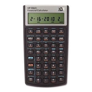 Hewlett-Packard NW239AA#ABA 10bII+ Financial Calculator, 12-Digit LCD by HEWLETT PACKARD COMPANY