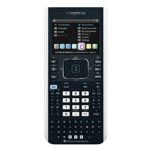 TEXAS INSTRUMENTS INC. N3/CBX/2L1/B TI-Nspire CX Color Graphing Calculator Teacher Bundle (with TI Nspire & CAS Software)