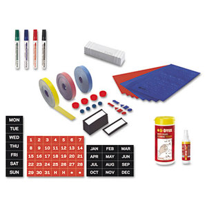 Bi-silque S.A KT1317 Magnetic Board Accessory Kit, Blue/Red by BI-SILQUE VISUAL COMMUNICATION PRODUCTS INC