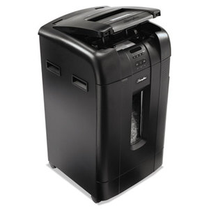ACCO Brands Corporation 1758578 Stack-and-Shred 750M Auto Feed Heavy Duty Shredder, Micro-Cut, 750 Sheets by SWINGLINE