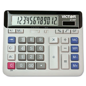 Victor Technology, LLC 2140 2140 Desktop Business Calculator, 12-Digit LCD by VICTOR TECHNOLOGIES