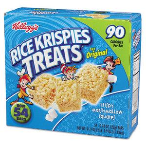Kellogg NA Co. 827118 Rice Krispies Treats, Original Marshmallow, 0.78oz Pack, 54 per Carton by KELLOGG'S