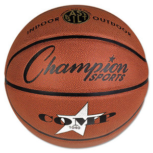 """CHAMPION SPORTS SB1040 Composite Basketball, Official Junior, 27.75"""", Brown by CHAMPION SPORT"""