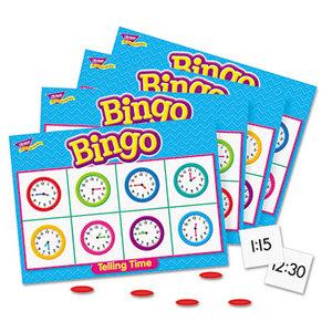 TREND ENTERPRISES, INC. T6072 Young Learner Bingo Game, Tell Time by TREND ENTERPRISES, INC.