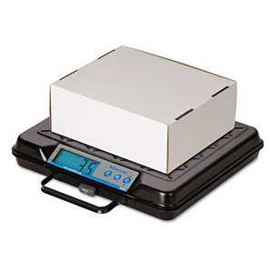SALTER BRECKNELL GP100 Portable Electronic Utility Bench Scale, 100lb Capacity, 12 x 10 Platform by SALTER BRECKNELL