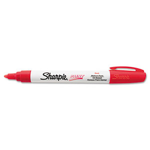 Permanent Paint Marker, Medium Point, Red by SANFORD